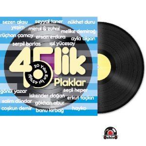 Satilik Plak 20 Yılın En İyi 45likleri Plak Kapak