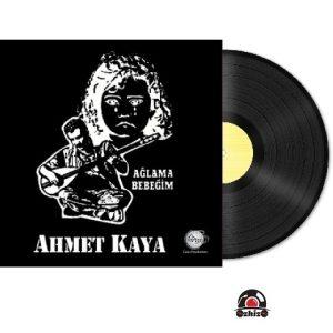 Satilik Plak Ahmet Kaya Ağlama Bebeğim Plak Kapak