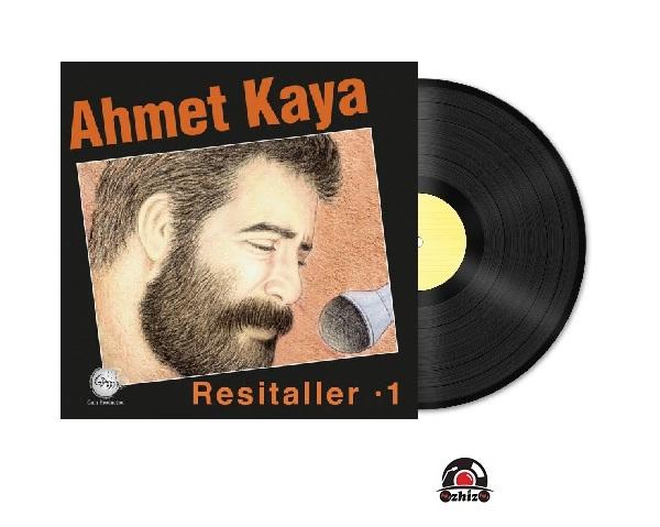 Satılık Plak Ahmet Kaya Resitaller 1 Plak Kapak