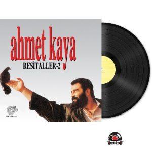 Satılık Plak Ahmet Kaya Resitaller 2 Plak Kapak