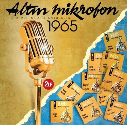 Satılık Plak Altın Mikrofon 1965 Plak Ön Kapak
