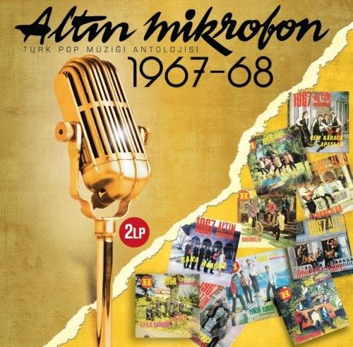 Satılık Plak Altın Mikrofon 1967 1968 Plak Ön Kapak