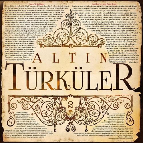 Satılık Plak Altın Türküler 2 Plak Ön