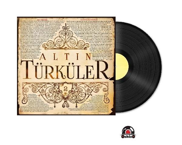 Satilik Plak Altın Türküler Plak Kapak
