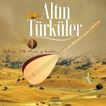 Satılık Plak Altın Türküler Plak Ön