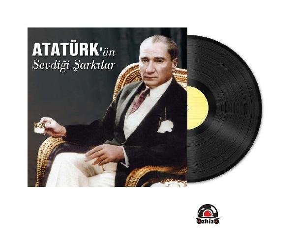 Satilik Plak Atatürkün Sevdiği Şarkılar Ati Plak Kapak