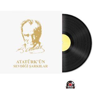 Satilik Plak Atatürkün Sevdiği Şarkılar Plak Kapak