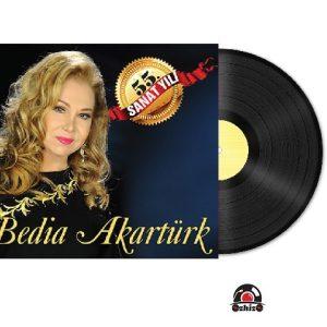 Satilik Plak Bedia Akartürk 55. Sanat Yılı Plak Kapak