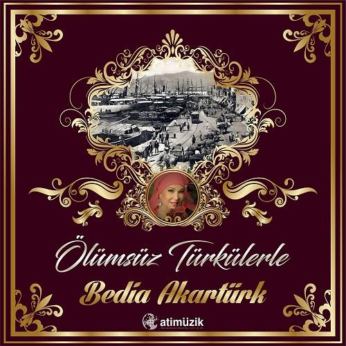 Satılık Plak Bedia Akartürk Ölümsüz Türkülerle Plak Ön