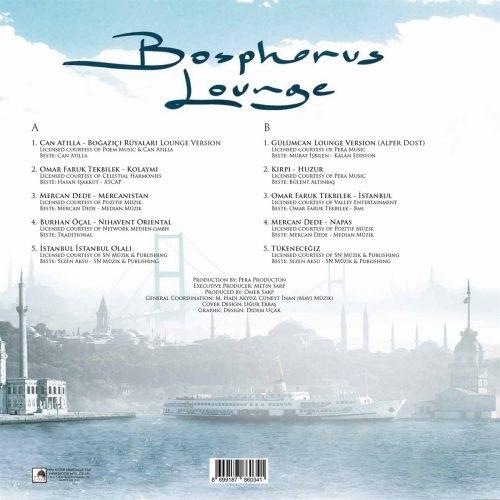 Satılık Plak Bosphorus Lounge Plak Arka