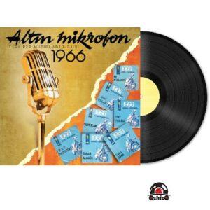 Satılık Plak Çeşitli Sanatçılar Altın Mikrofon 1966 Plak Kapak