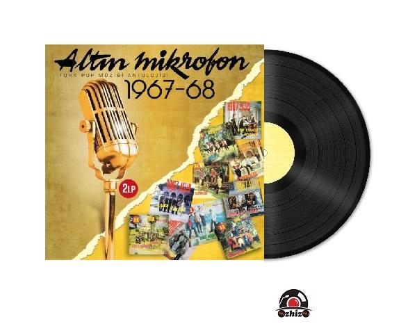 Satılık Plak Çeşitli Sanatçılar Altın Mikrofon 1967-1968 Plak Kapak