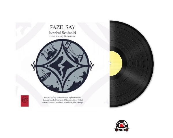 Satılık Plak Fazıl Say İstanbul Senfonisi Plak Kapak