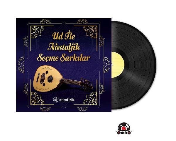 Satilik Plak Hüdai Aksu Ud İle Nostaljik Seçme Şarkılar Plak Kapak