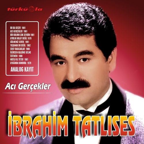 Satılık Plak İbrahim Tatlıses Acı Gerçekler Plak Ön Kapak