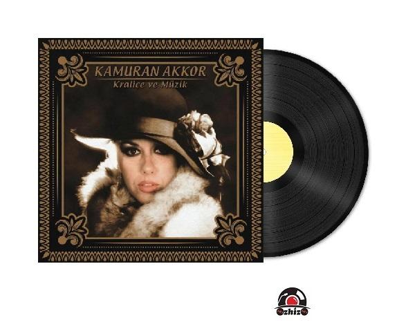 Satilik Plak Kamuran Akkor Kraliçe ve Müzik Plak Kapak