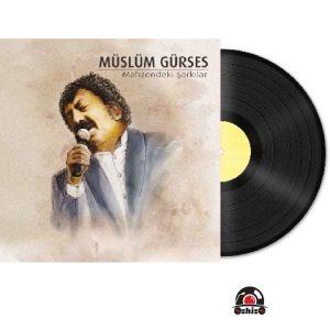 Satilik Plak Müslüm Gürses Mahzendeki Şarkılar Plak Kapak
