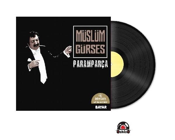 Satilik Plak Müslüm Gürses Paramparça Plak Kapak