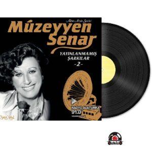 Satilik Plak Müzeyyen Senar Yayınlanmamış Şarkılar 2 Plak Kapak