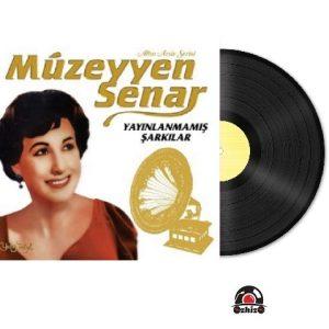 Satilik Plak Müzeyyen Senar Yayınlanmamış Şarkılar Plak Kapak