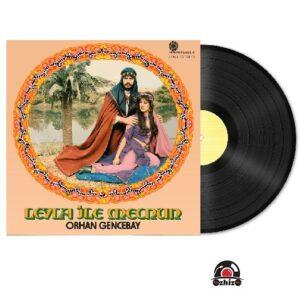 Satılık Plak Orhan Gencebay Leyla ile Mecnun Plak Kapak
