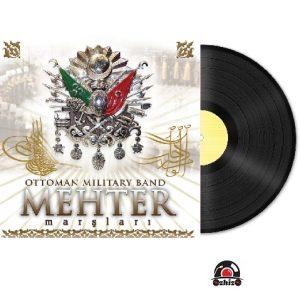 Satilik Plak Ottoman Military Band Mehter Marşları Plak Kapak