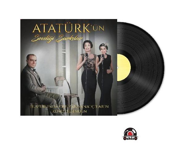 Satılık Plak Safiye Ayla Müzeyyen Senar Atatürkün Sevdiği Şarkılar Plak Kapak