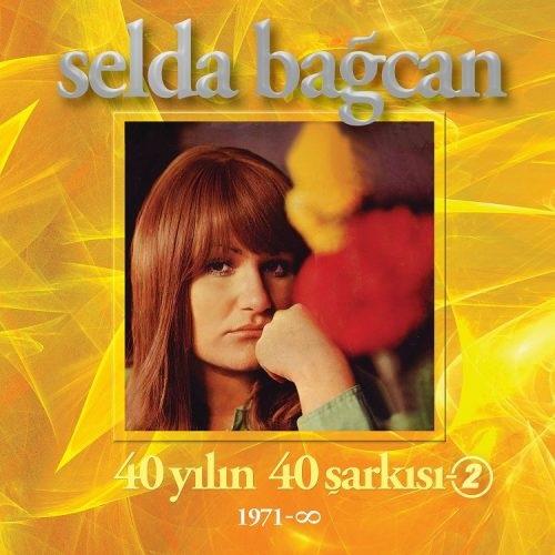 Satılık Plak Selda Bağcan 40 Yılın Şarkıları 2 Plak Ön Kapak