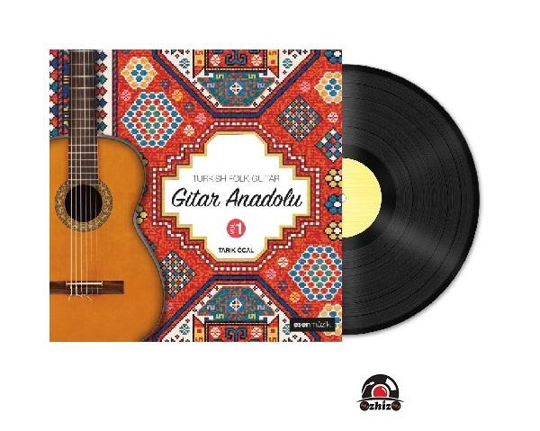 Satilik Plak Tarık Öcal Gitar Anadolu Vol 1 Plak Kapak