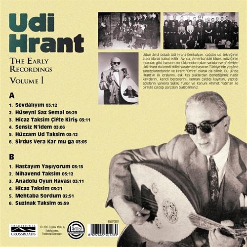 Satılık Plak Udi Hrant The Early Recordings Plak Arka