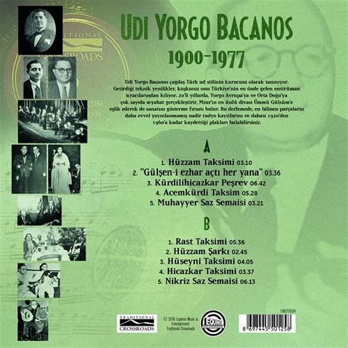 Satılık Plak Udi Yorgo 1900 1977 Plak Arka