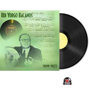 Satilik Plak Udi Yorgo Bacanos 1900 – 1977 Plak Kapak