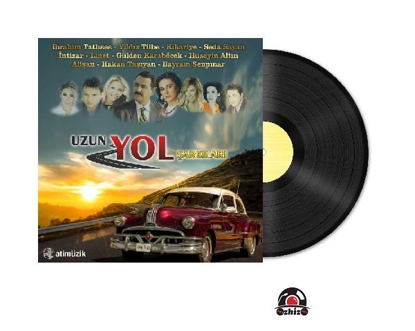 Satilik Plak Uzun Yol Şarkıları Plak Kapak