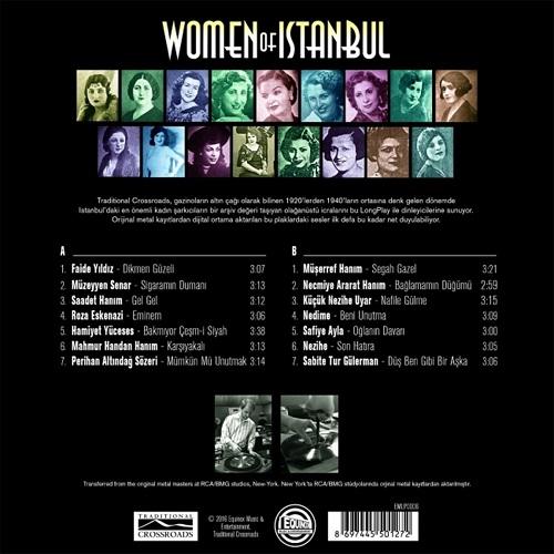 Satılık Plak Women Of Istanbul Plak Arka