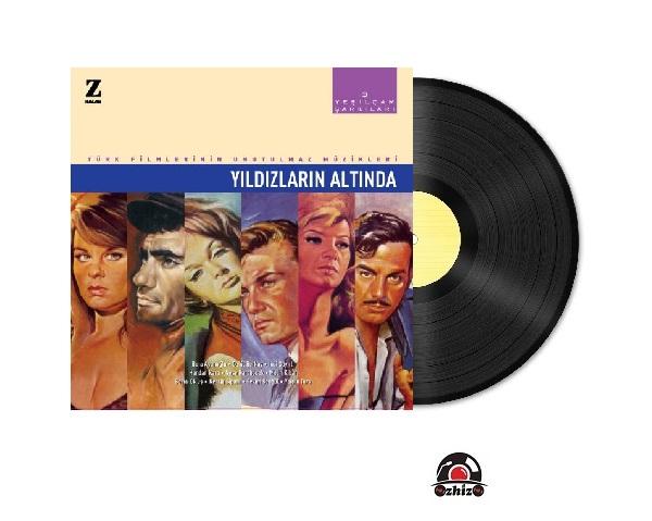 Satılık Plak Yeşilçam Şarkıları 3 Yıldızların Altında Plak Kapak