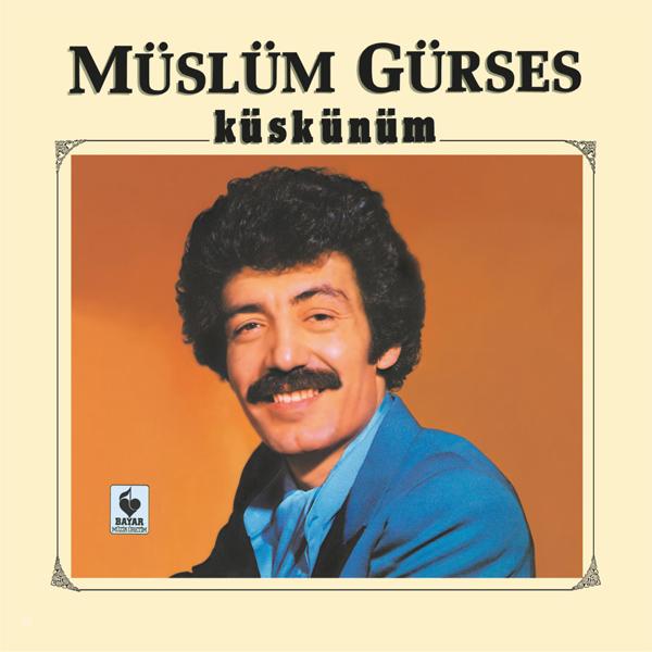 Satılık CD Müslüm Gürses Küskünüm CD Ön Kapak
