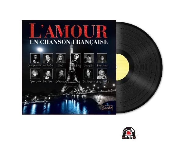 Satılık Plak L'amour En Chanson Française Plak Kapak