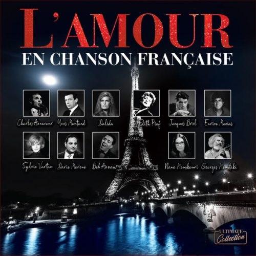 Satılık Plak L'amour En Chanson Française Plak Ön Kapak