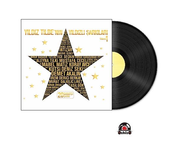 Satılık Plak Yıldızlı Şarkılar Plak Kapak
