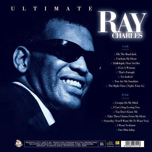 Satılık Plak Ray Charles Ultimate Plak Arka Kapak